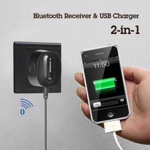 adaptateur audio bluetooth usb charge